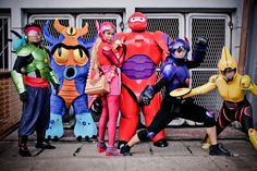 BIG HERO 6cosplay pining it due.to it was.a comic before