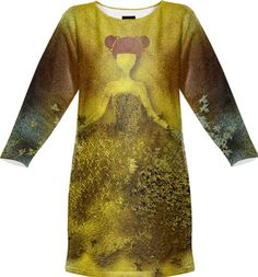 Dressed in gold , art design by Annabellerockz from Print All Over Me