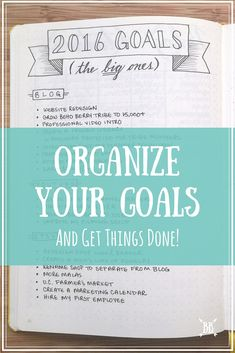 to Organize Your Goals + Get Things Done! A look at how I organize my goals in my bullet journal + how you can organize YOUR goals too!A look at how I organize my goals in my bullet journal + how you can organize YOUR goals too! Planner Bullet Journal, Bullet Journals, Bullet Journal Year Goals, Bullet Journal Goal Setting, College Problems, Filofax, Bujo, Jm Barrie, Goal Planning