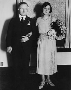 Dion O'Banion and wife