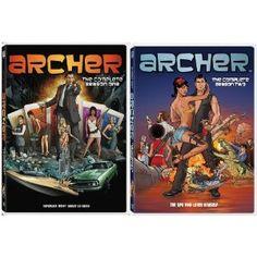 Archer: The Complete First and Second Seasons (DVD)  http://www.amazon.com/dp/B007RPJ4K8/?tag=helhyd-20  B007RPJ4K8
