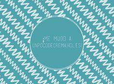 NOS VEMOS EN unpocodecrema.hol.es :) Chalkboard Quotes, Art Quotes, Personalized Items, Blog, Artwork, Desserts, Cards, Facebook, When I See You