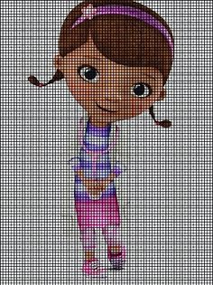Doc mcstuffins cross stitch