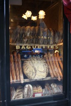 Baguettes—always a delightful discovery!