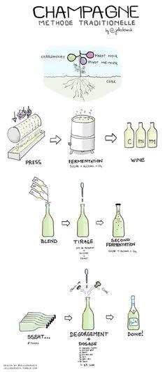 Champagne - Methode Traditionale   by @jellederoeck vía @MijnWijnPlein