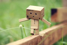 Image discovered by Carla. Find images and videos about cute, box and danbo on We Heart It - the app to get lost in what you love. Anton, Box Robot, Miss Piggy, Man Wallpaper, Cute Box, Little Boxes, Little People, Stress Relief, Never Give Up