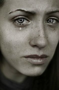 freckles, tears and beautiful fragility White Photography, Portrait Photography, Crying Eyes, Expressions Photography, Sad Faces, Dont Cry, We Are The World, Face Expressions, Human Emotions