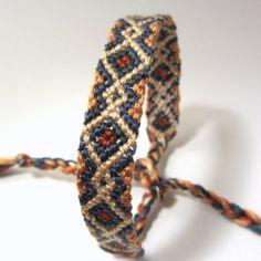 Amistad pulsera Arizona-mano tejida por BraveTurtleCreations