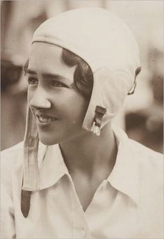 Anne Morrow Lindbergh......By the middle of 1931, she had earned her private pilot's license and qualified as a radio operator and navigator. Once licensed, she was Charles's working crew member. In January 1930, she became the first American woman to earn a glider pilot's license.