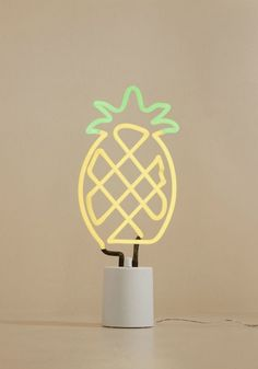We All Need Somebody to Neon Light in Pineapple