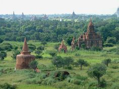 Pagan, the thousand pagodas plain, Myanmar