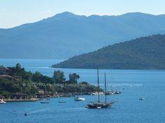 Private Yacht Chartering in Turkey. Bozburun peninsula.