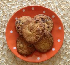 Thermomix Gooey Chocolate and Cranberry Cookies