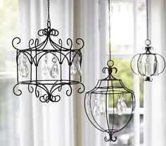 wire chandelier by dixie