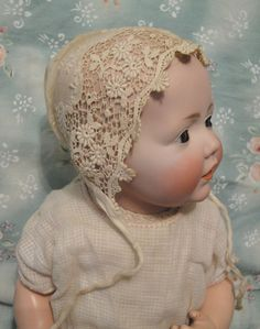 "Fantastic Antique Bisque Kestner 14"" Hilda Baby in RARE Mint Like Condition 