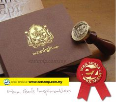 wedding wax seal kit, stamp to seal important documents, shipments, postcards, bottles etc.