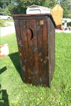 Pallet garden Outhouse Use for Garden Tools, buckets etc