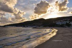 Tramonto a Sesimbra, Praia do Meco e Sesimbra #rainbowRTW #visitportugal