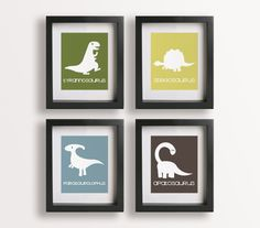 Dinosaur Art Prints.  Ordered.