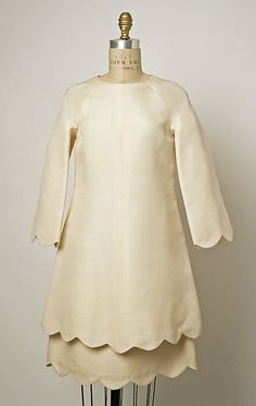 Dress Valentino  (Italian, born 1932) Date: 1967 Culture: Italian Medium: silk Dimensions: Length at CB (a): 32 in. (81.3 cm) Length at CB (b): 20 in. (50.8 cm)