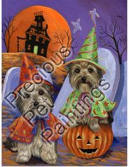 Yorkshire Terrier Haunted House