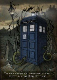 TARDIS on Hopeless by CopperAge.deviantart.com on @deviantART