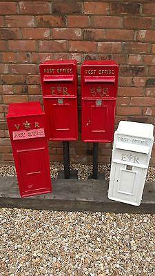 Stunning Remaked Cast Iron Royal Mail Post Bo Office Box Pillar Red Ebay
