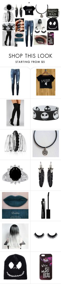 """Black day"" by monsterhigh1217 on Polyvore featuring AG Adriano Goldschmied, Liliana, Avenue, Rebecca Minkoff, Givenchy, Disney and Torrid"