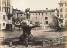 Piazza Barberini ca) Rome, Painting, Art, Art Background, Painting Art, Kunst, Paintings, Rum, Performing Arts