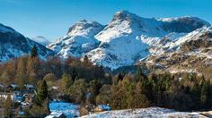 Great Langdale Valley in Lake District National Park | Langdale Valley, Harrison Stickle and Pavey Ark