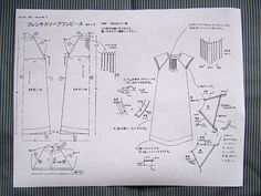 Free sewing patterns by Kokka of Japan, couldn't pin direct from the website, so pinned from the blog I found them on