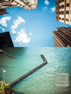 #buildings #dock #montreal #photography Looking up and looking down in Montreal.