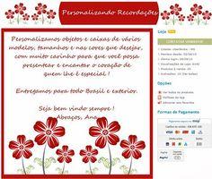 Personalização de Lojas Virtuais e Fan Page - Cantinho do blog Layouts e Templates para Blogger
