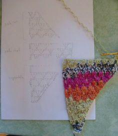 schéma Baktus crochet