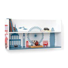 LOVE!!  via BKLYN contessa :: great little trading co :: london town wall shelf