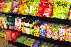 Japan: Snacks (serve with cold green tea)