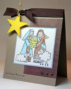 Stampin' Up! by Krystal's Cards and More: 2009 - Baby Jesus Is Born