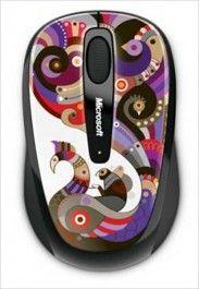 Мишка MICROSOFT Wireless Mobile Mouse 3500 Artist Chamarelli