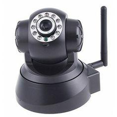 Pour surveiller ce qui se passe chez vous depuis votre smartphone, tablette ou ordinateur, cette caméra de surveillance IP wifi est en plus de ça motorisé et dirigeable à distance. Camera Surveillance, Distance, Wifi, Smartphone, Long Distance
