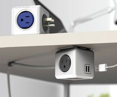 PowerCube Modular 4 Outlet & USB Plug | CoolShitiBuy.com