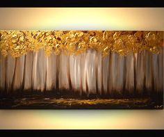 Canvas Art - Stretched, Embellished & Ready-to-Hang #art #print #giclee @EtsyMktgTool http://etsy.me/29SEGFw #modernart #embellishedprint