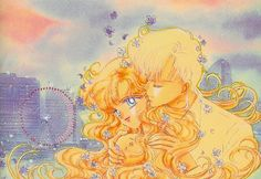 "Art from ""Rain Kiss"" (""Prism Time"" collection) by manga artist & ""Sailor Moon"" creator Naoko Takeuchi."