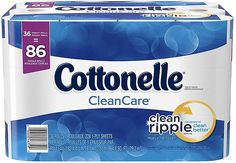 Cottonelle CleanCare Family Roll Toilet Paper 36 Rolls ($2.50 Off Coupon) $13.65 (amazon.com)