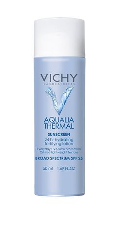 Vichy Aqualia Thermal Hydrating Fortifying Lotion 24 Hour Facial Moisturizer with SPF 25, 1.7 Fl. Oz. * More info could be found at the image url.