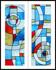 Custom Made Stained Glass Cabinet Door Inserts Stained Glass Cabinets, Stained Glass Door, Making Stained Glass, Glass Cabinet Doors, Stained Glass Panels, Leaded Glass, Glass Doors, Modern Stained Glass, Stained Glass Designs