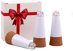 3 Packs Cork Shaped Rechargeable LED Bottle Light for Party - USB Powered - - Amazon.com
