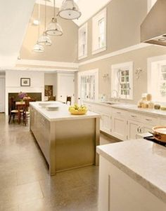 """Perfect for the kitchen!!! SHERWIN-WILLIAMS WHOLE WHEAT SW6121: """"It's the color of golden brown sugar. Very appetizing, with a lot of warmth. I'd use it on the walls with white trim, custard-colored cabinets, and a terra-cotta floor."""" -Joanne Hudson"""