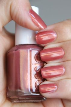 Essie - Antique Rose I just watched the breakfast club and this is Claire's nail color