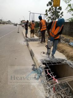 Breaking job, Epe Projects, Lakes, Tile Projects
