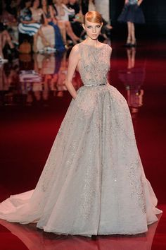 Elie Saab Fall 2013 Couture. Image: Getty.